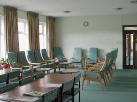 One of the Residents' lounges